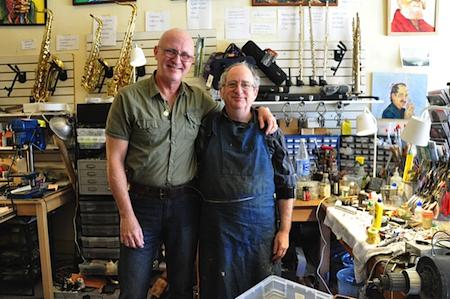 Javier Zalba and Steve Deutsch