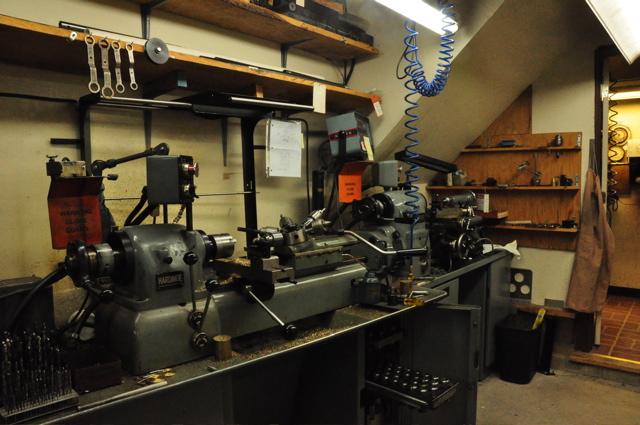 Flute Workshop equipment