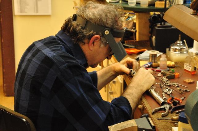 Steve Deutsch at the Vermont Flute Workshop.