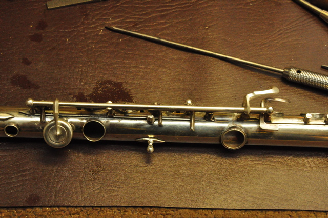 The new Haynes flute key is done.