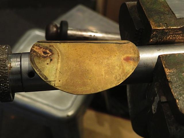 Making crutch for Jupiter Bass Flute Step 7
