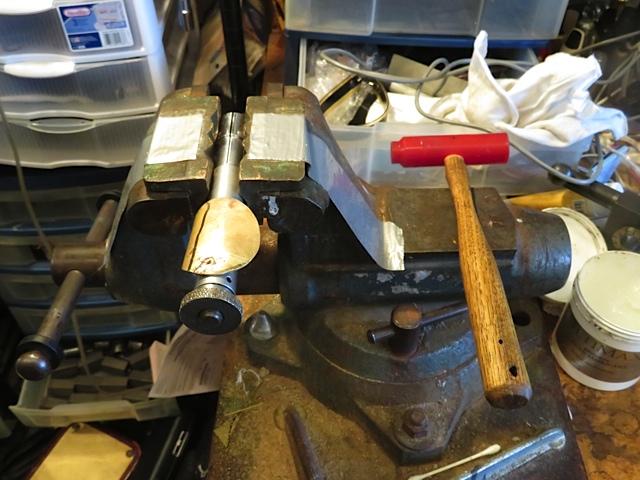Making crutch for Jupiter Bass Flute Step 8