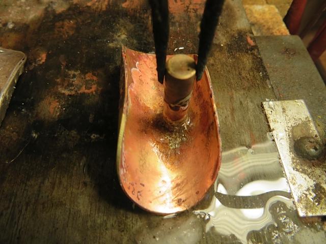 Making crutch for Jupiter Bass Flute Step 12