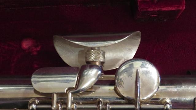 Making crutch for Jupiter Bass Flute Step 15