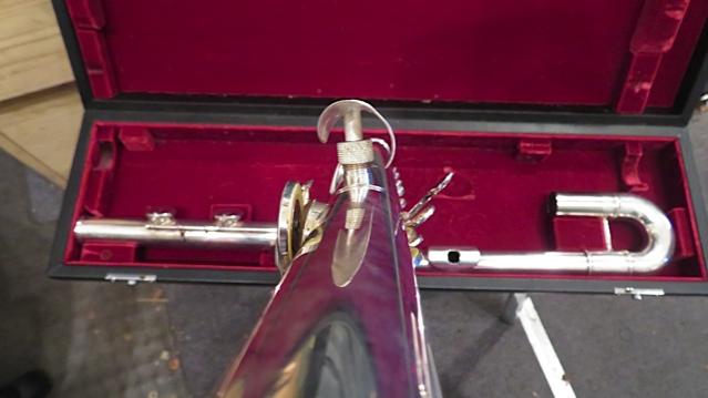 Making crutch for Jupiter Bass Flute Step 16