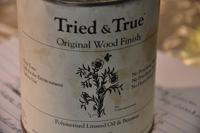 Tried & True oil for wood flutes and other woodwind instruments.
