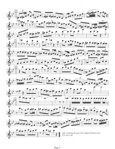 Eric Dolphy 17 West Score - page two