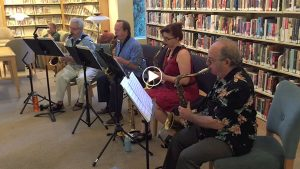 Hot Air Sax Quartet Berkeley California