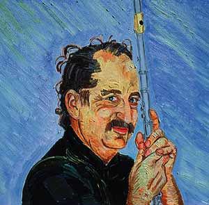 Steve Deutsch Berkeley Woodwind Repairman self-portrait