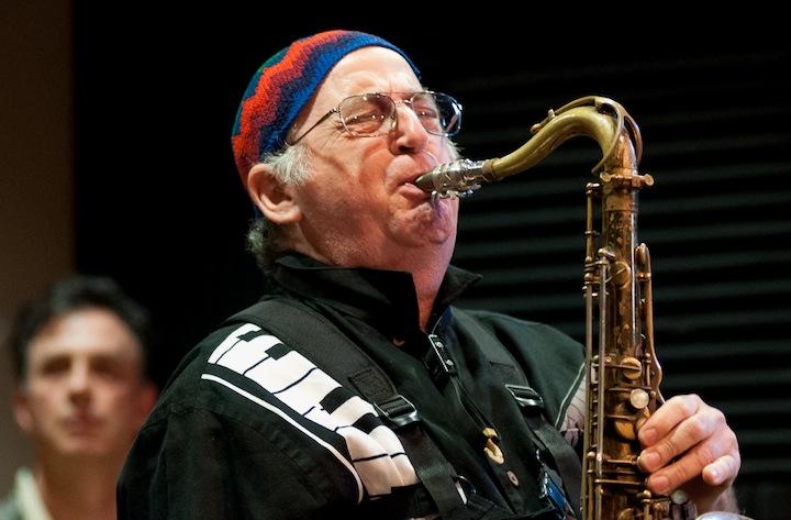 Steve Deutsch on Tenor Sax at the Jazz School, Berkeley, California