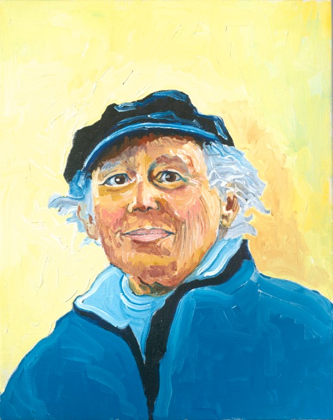 Betty Deutsch portrait by Steve Deutsch