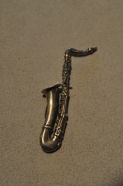 Willow Zarlow Saxophone Lapel pin $28.00