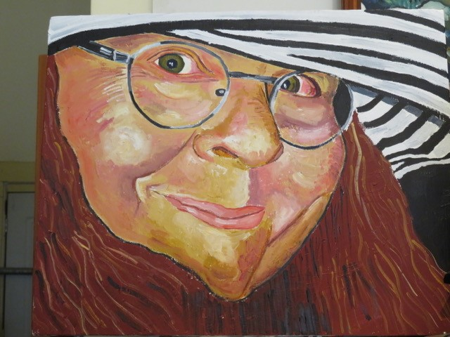Steve Deutsch Paintings - My Wife Willow