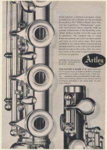 Restored Artley Watkins Flutes