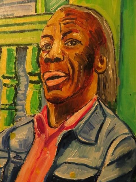 Steve Deutch Art: Professor Longhair Closeup View